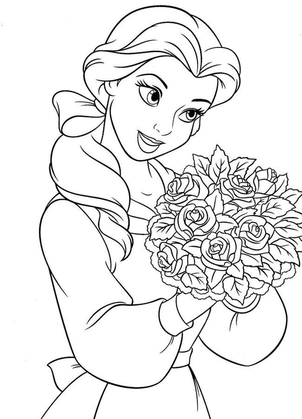 Disney Princess Coloring Book Arisbeth Cruz Hernandez